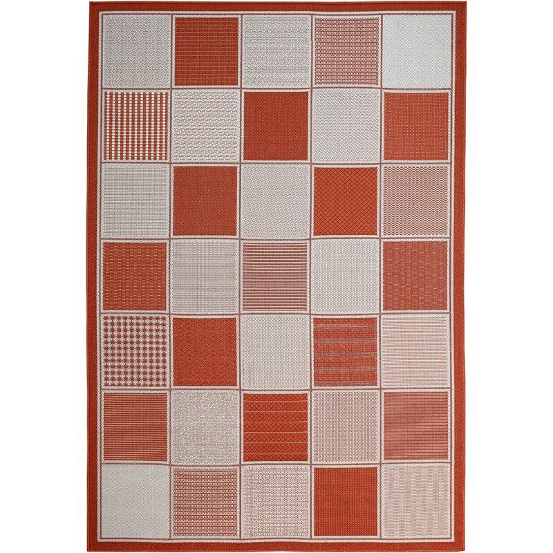 Winston Porter Poff Home Mandarin Orange Indoor Outdoor Area Rug Wayfair