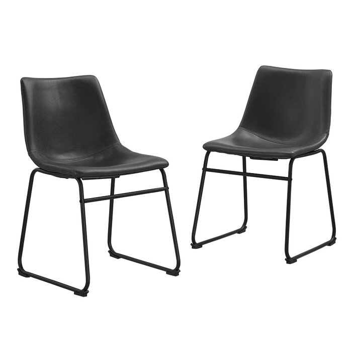 Joss And Main Leather Dining Chairs