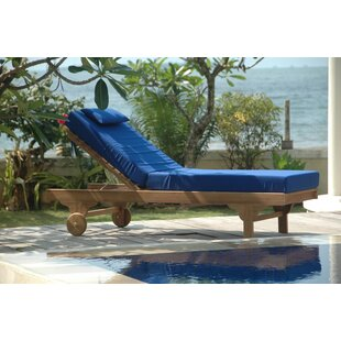 Anderson Teak Capri Teak Chaise Lounge