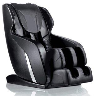 Brayden Studio Leather Full Body Massage Chair