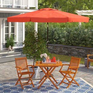 Three Posts 10' Hartland Drape Umbrella