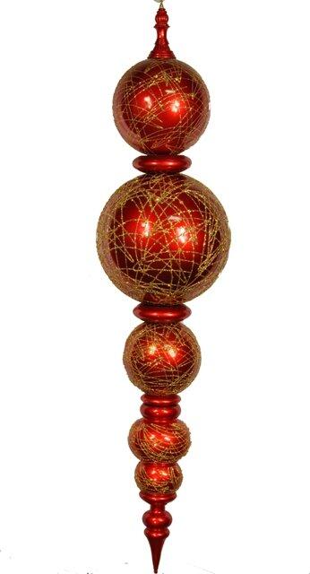 Shatterproof Finial Ornament