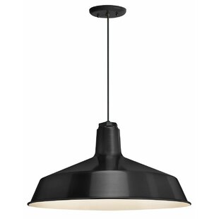 Breakwater Bay Jeffries 1-Light Dome Pendant