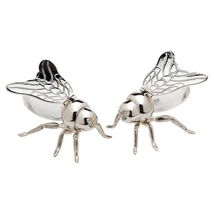 Winged Bee Salt and Pepper Set