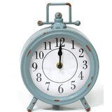 Metal Table Clock by August Grove®