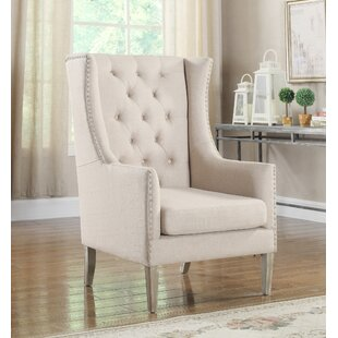 Melody Wingback Chair by Alcott Hill