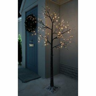 Pre Lit Led Twig Tree Lamp
