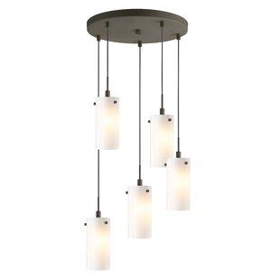 Latitude Run Cheyanna 5-Light Mini Pendant Cluster