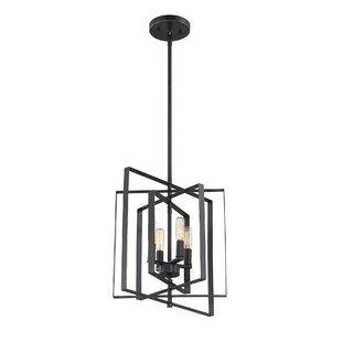 Chun 4-Light Square/Rectangle Chandelier