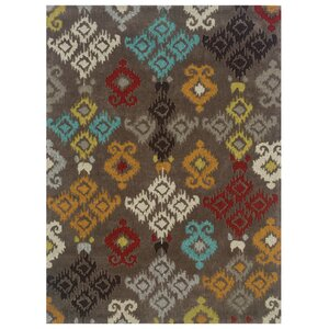 Crispin Hand-Tufted Gray Area Rug