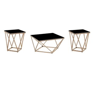 Mote 3 Piece Coffee Table Set by Wrought Studio