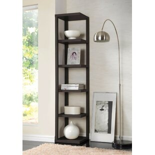 Ginder Corner Bookcase by Ebern Designs Today Sale Only