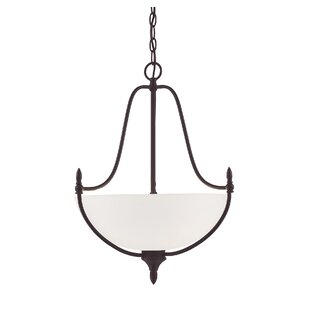 Charlton Home Ellender 3-Light Bowl Pendant