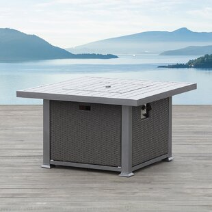 Ove Decors Ventura Aluminum Natural Gas Fire Pit Table