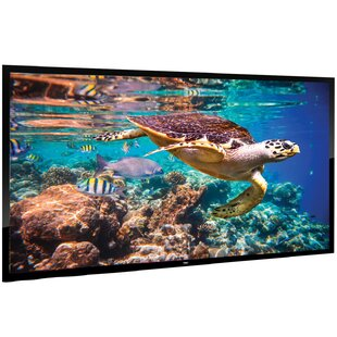 Wall Mount White 120 Fixed Frame Projection Screen