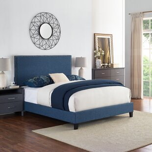 Charlton Home Cassandra Upholstered Panel Bed