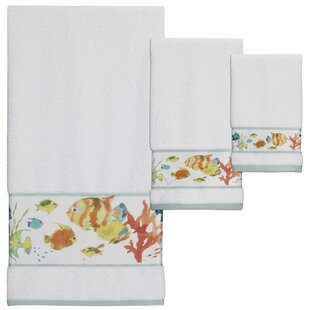 Cater 3 Piece 100% Cotton Towel Set