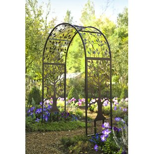 Plow & Hearth Garden Steel Arbor