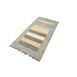 Gamelin Hand Hooked Grey Indoor/Outdoor Rug By Bloomsbury Market