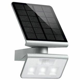 Bragdon LED Solar Outdoor Sconce With Motion Sensor Image