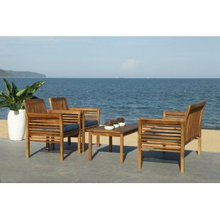 Behr 4 Piece Seating Group with Cushions