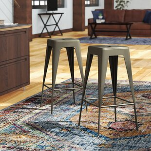 Burgess 29.5 Bar Stool (Set of 2) by Trent Austin Design