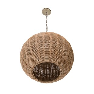 Elodie 1-Light Globe Pendant by Mistana