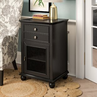 Ophelia & Co. Kavya Storage 2 Drawer Accent Cabinet