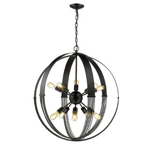 Branscome 10-Light Globe Chandelier by Brayden Studio