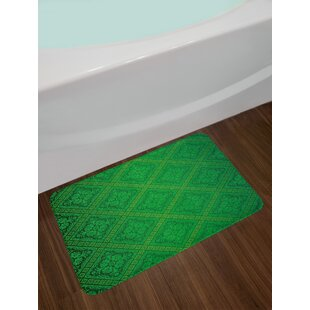 Vector Green Bath Rug