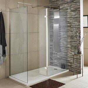 32,2 cm x 185 cm Dreh-Duschtür Wetroom von Premier