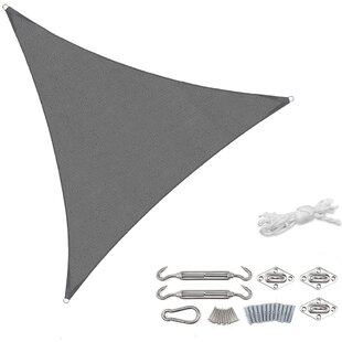 Drey 3m X 3m Triangular Shade Sail By Sol 72 Outdoor