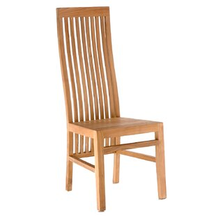 Brenner Teak Patio Dining Side Chair