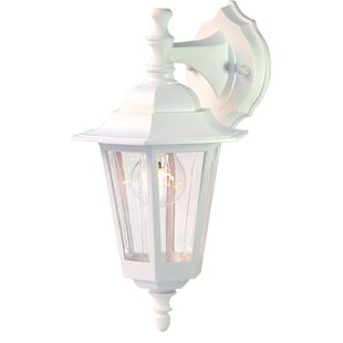 Best Deals Mishra 1-Light Wall Lantern By August Grove