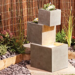 Tinney Polystone Fountain With LED Light Image