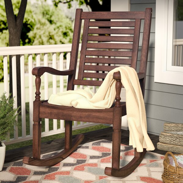 Fine Outdoor Wooden Rocking Chair Wayfair Download Free Architecture Designs Scobabritishbridgeorg