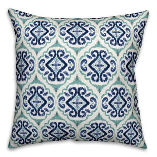 Perdomo Medallion Outdoor Throw Pillow