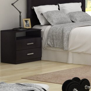Homestar Alexander 2 Drawer Nightstand