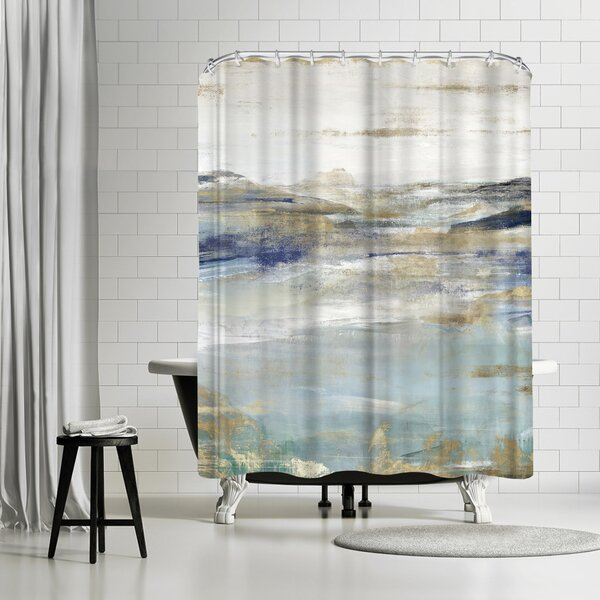 East Urban Home Pi Creative Art Upon A Clear I Single Shower Curtain Wayfair