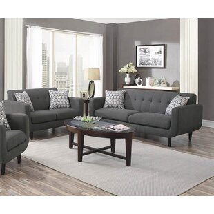 Ivy Bronx Avianna 2 Piece Living Room Set