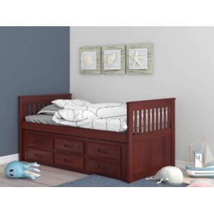 Affordable Trumble Twin Sleigh Bed with Storage by Viv + Rae Reviews (2019) & Buyer's Guide