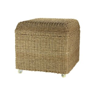 Griffen Upholstered Rolling Storage Ottoman