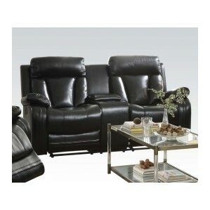 Isidro Motion Console Reclining Sofa by ACME..