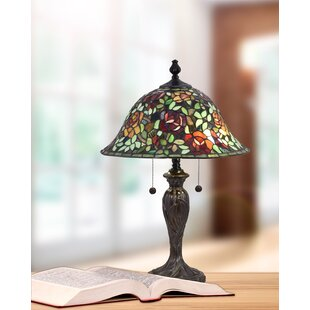 Finger Rose Collage 24 Table Lamp