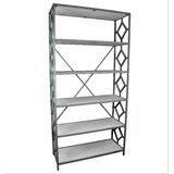 Abdorahman 84 H x 42 W Metal Standard Bookcase by Latitude Run®