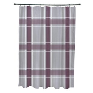 Nicholson Plaid Single Shower Curtain
