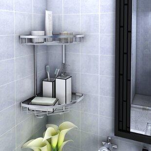 Rebrilliant Patricia Aluminum Shower Caddy