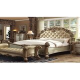 Senne King Upholstered Standard 2 Piece Bedroom Set by Rosdorf Park