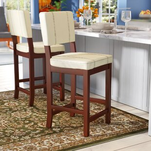 Lechner 24 Bar Stool Millwood Pines