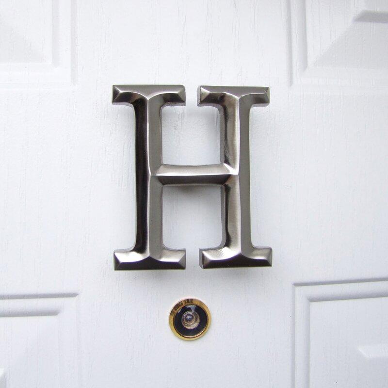 Etonnant Letter Monogram Door Knocker